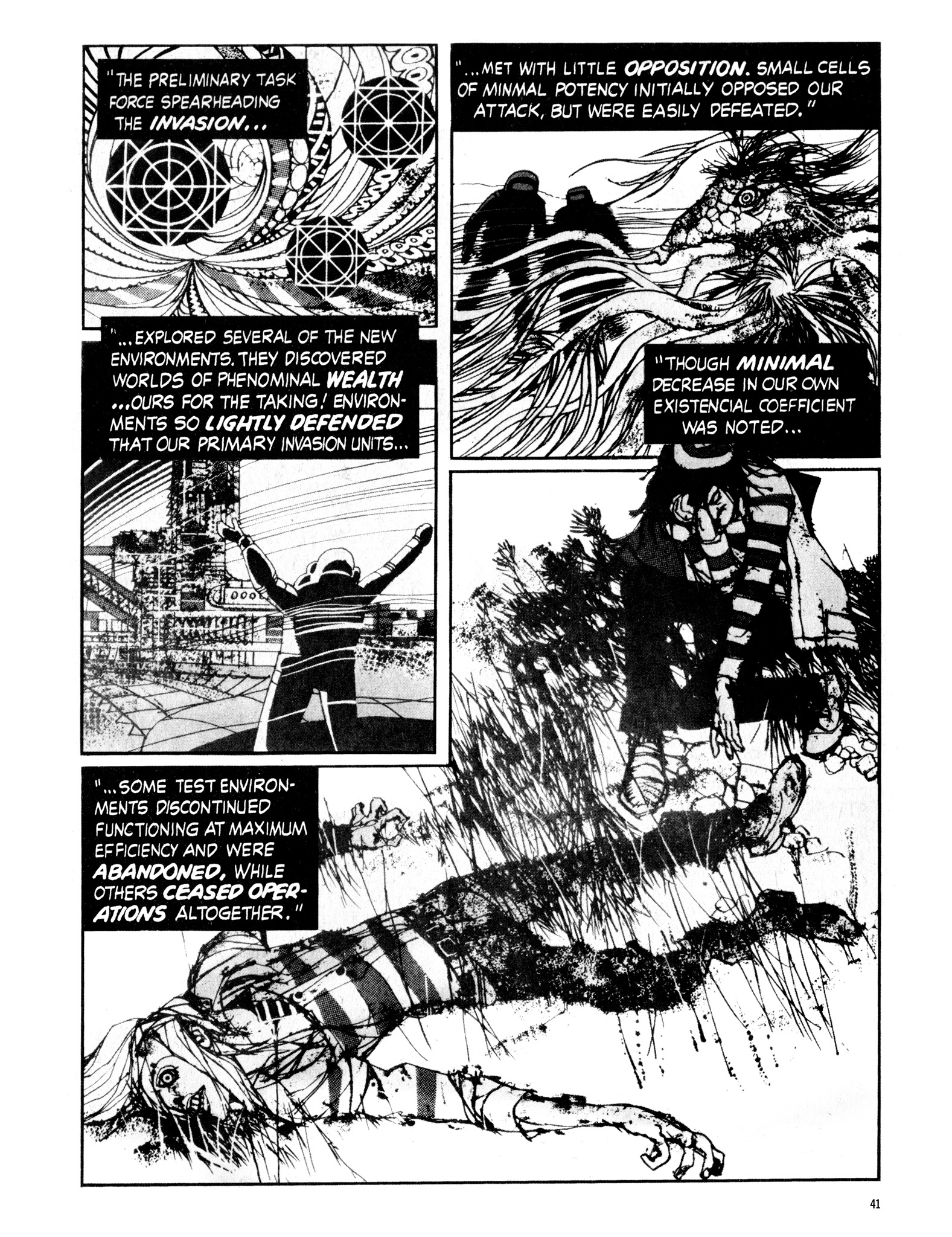 Read online Eerie Archives comic -  Issue # TPB 16 - 42