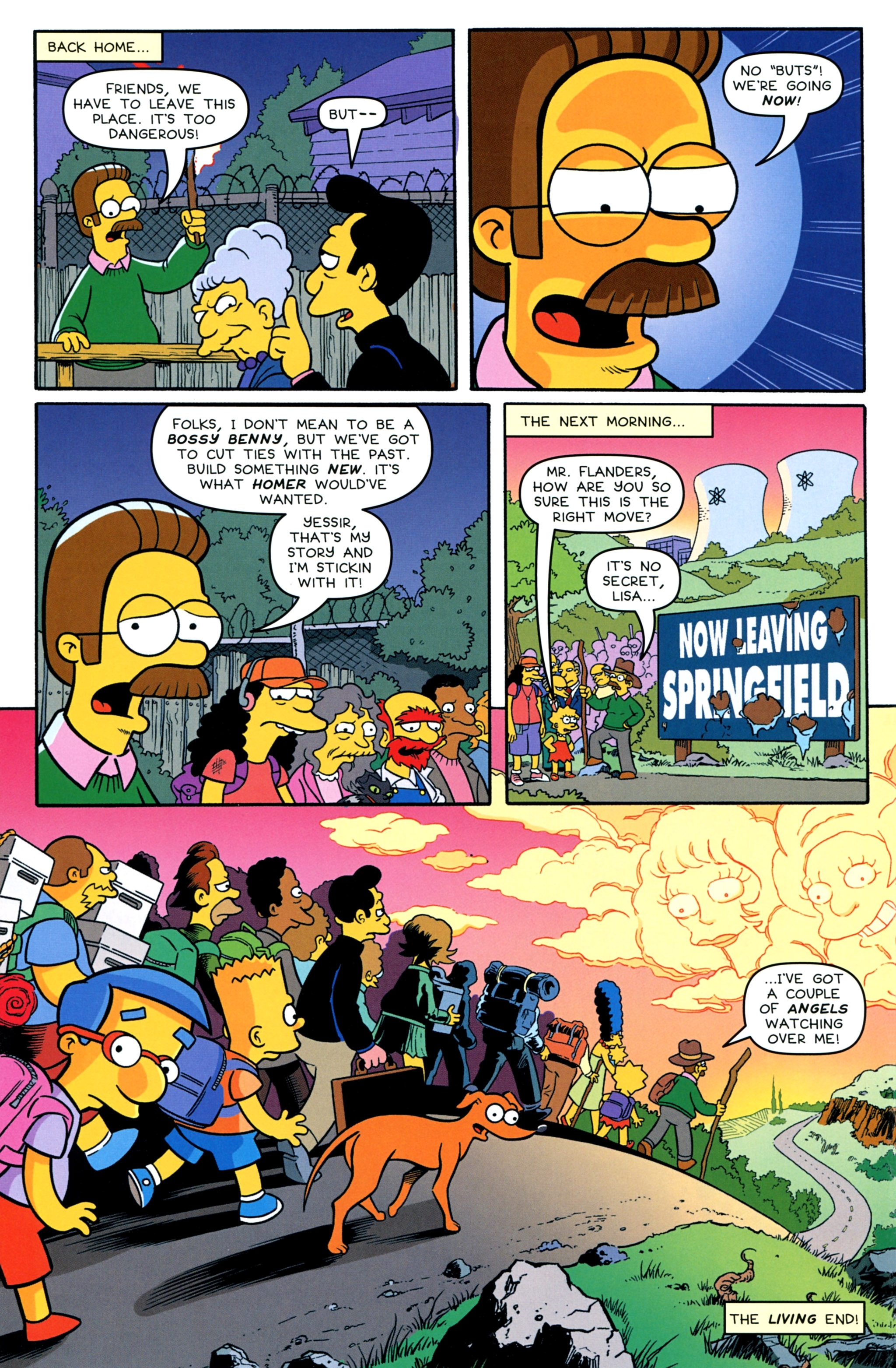 Read online Treehouse of Horror comic -  Issue #20 - 22