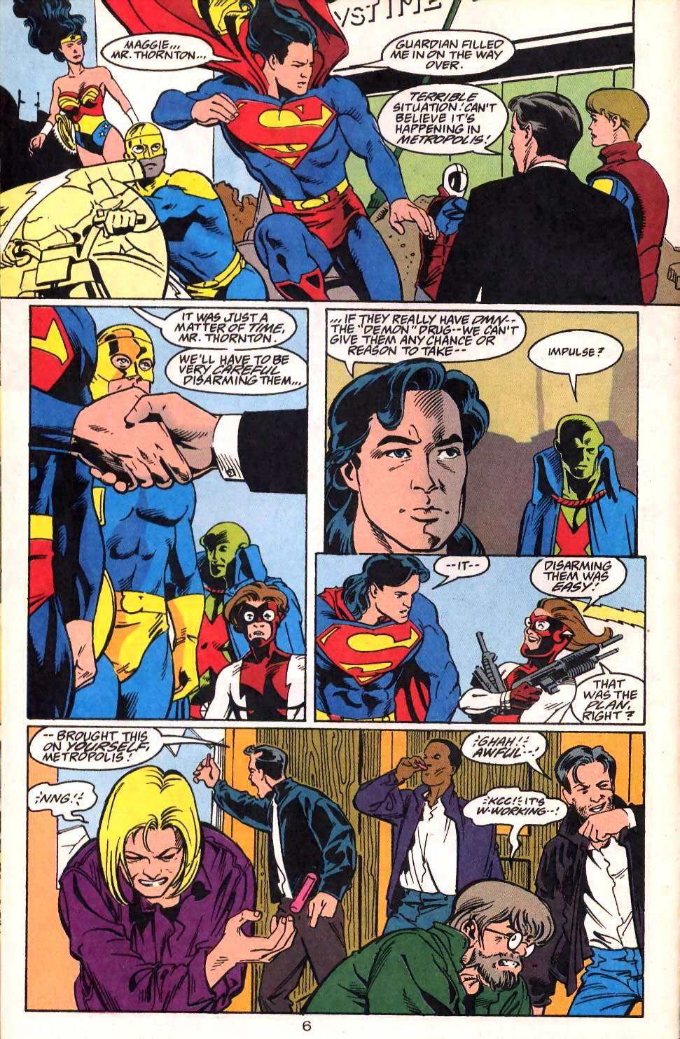 Read online Adventures of Superman (1987) comic -  Issue #522 - 8