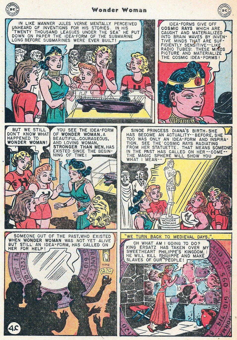 Read online Wonder Woman (1942) comic -  Issue #27 - 41