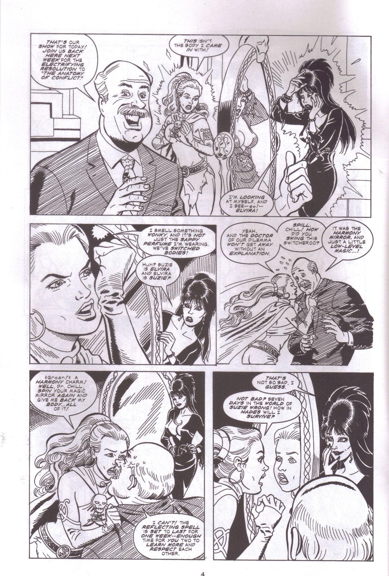 Read online Elvira, Mistress of the Dark comic -  Issue #159 - 6