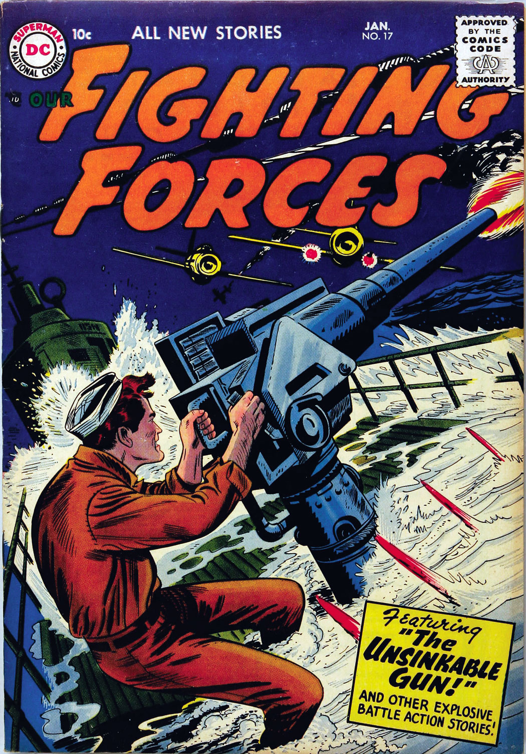 Our Fighting Forces (1954) issue 17 - Page 1