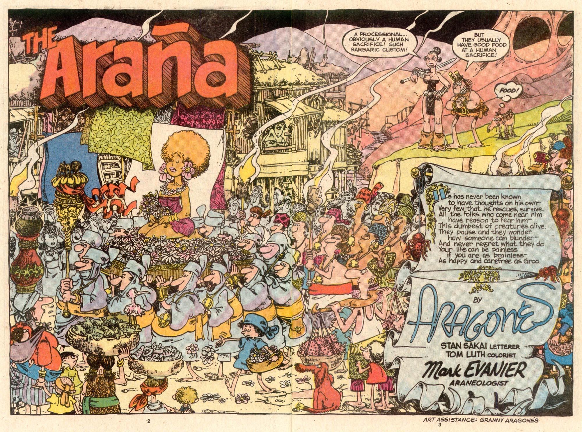 Read online Sergio Aragonés Groo the Wanderer comic -  Issue #52 - 3