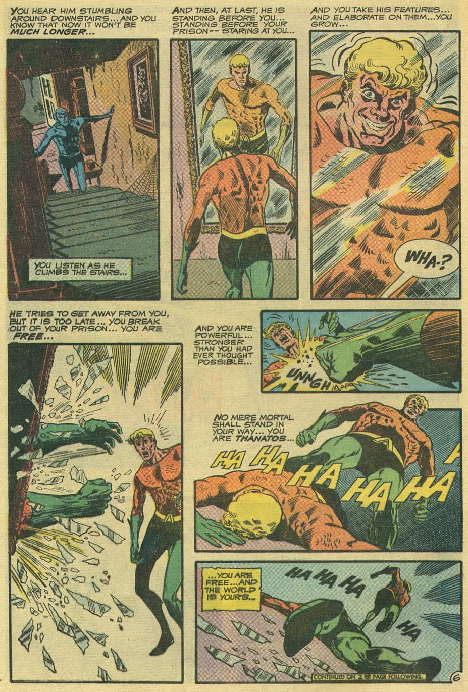 Read online Aquaman (1962) comic -  Issue #54 - 8