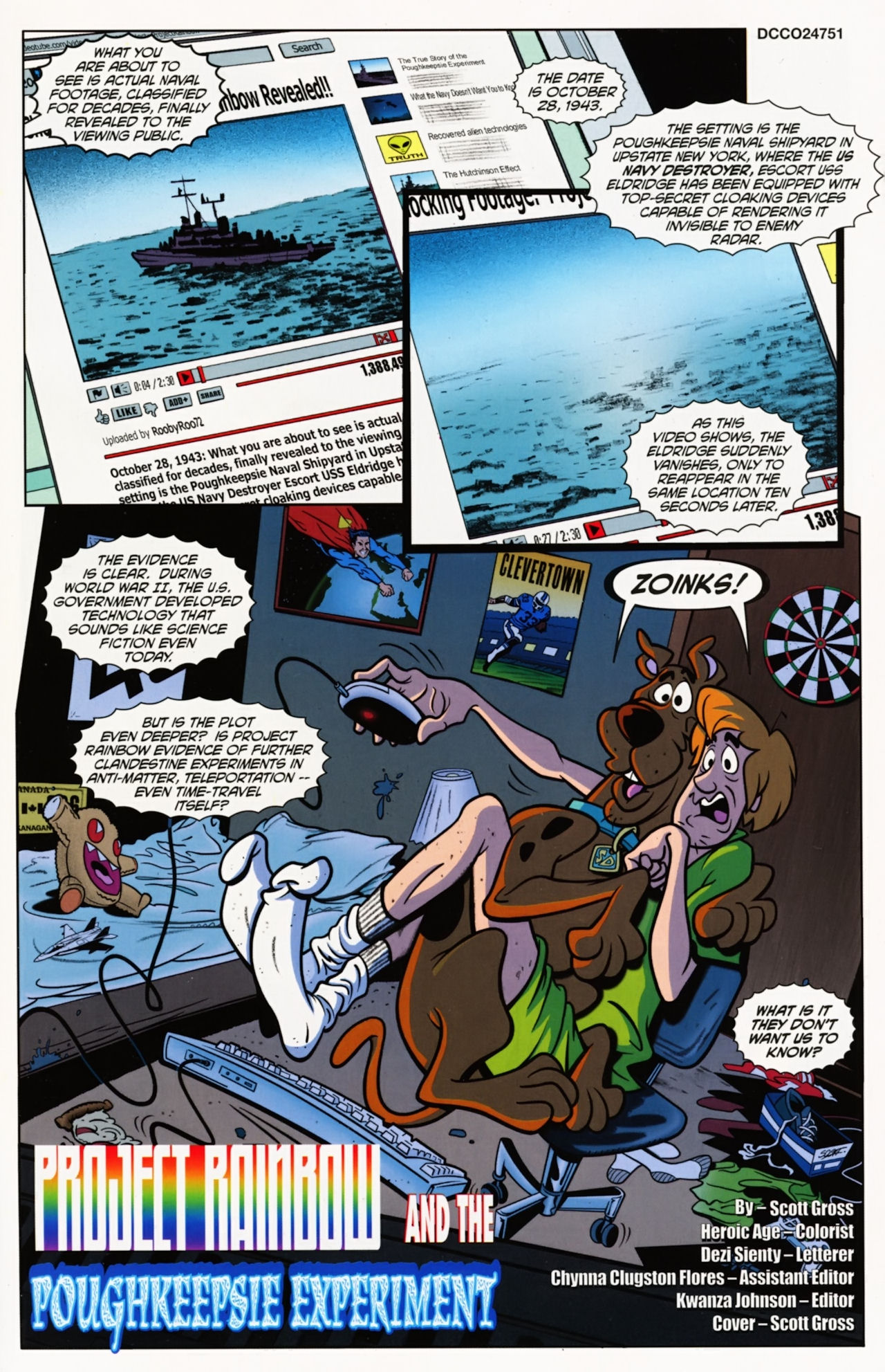 Read online Scooby-Doo: Where Are You? comic -  Issue #11 - 3