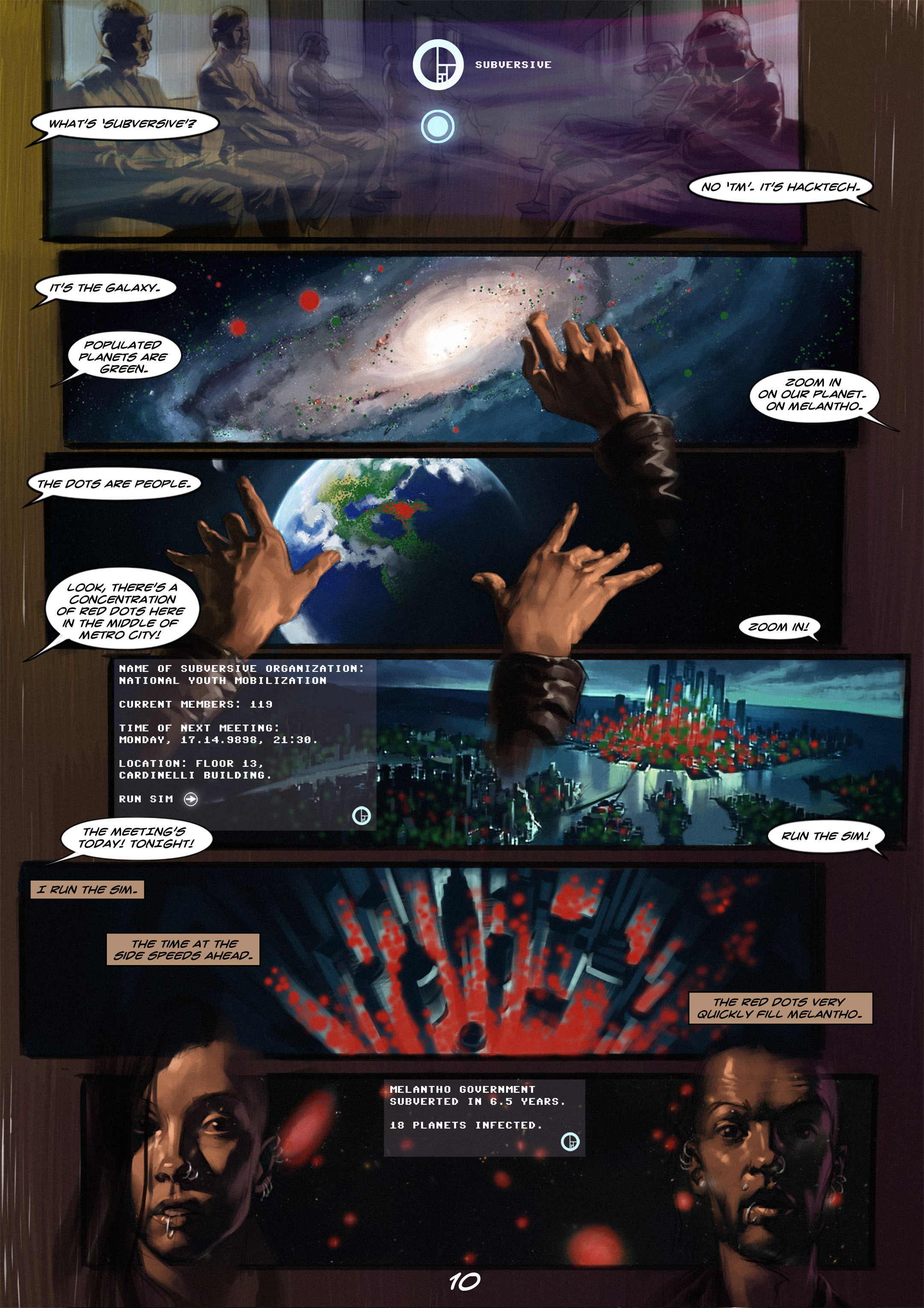 Read online Wynter comic -  Issue #1 - 11