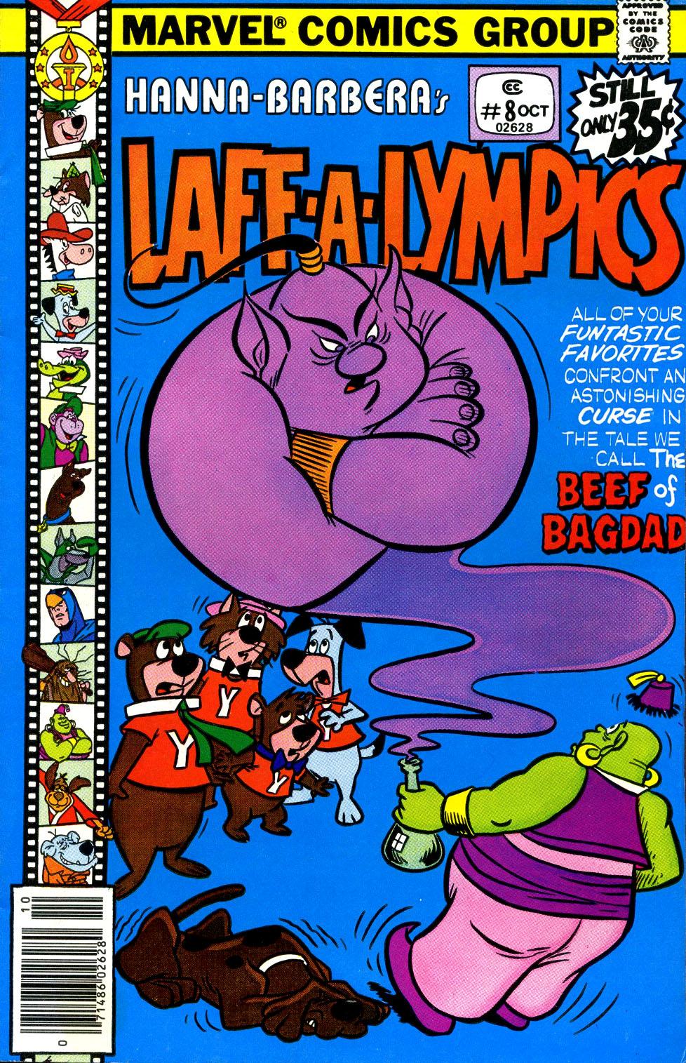 Laff-a-lympics 8 Page 1