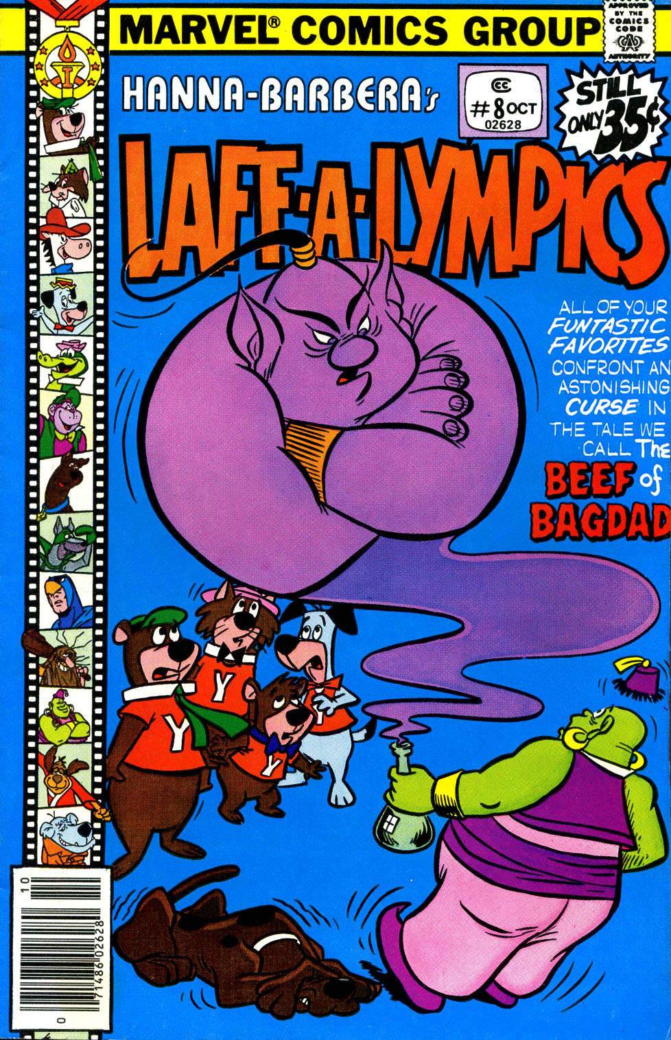 Laff-a-lympics issue 8 - Page 1