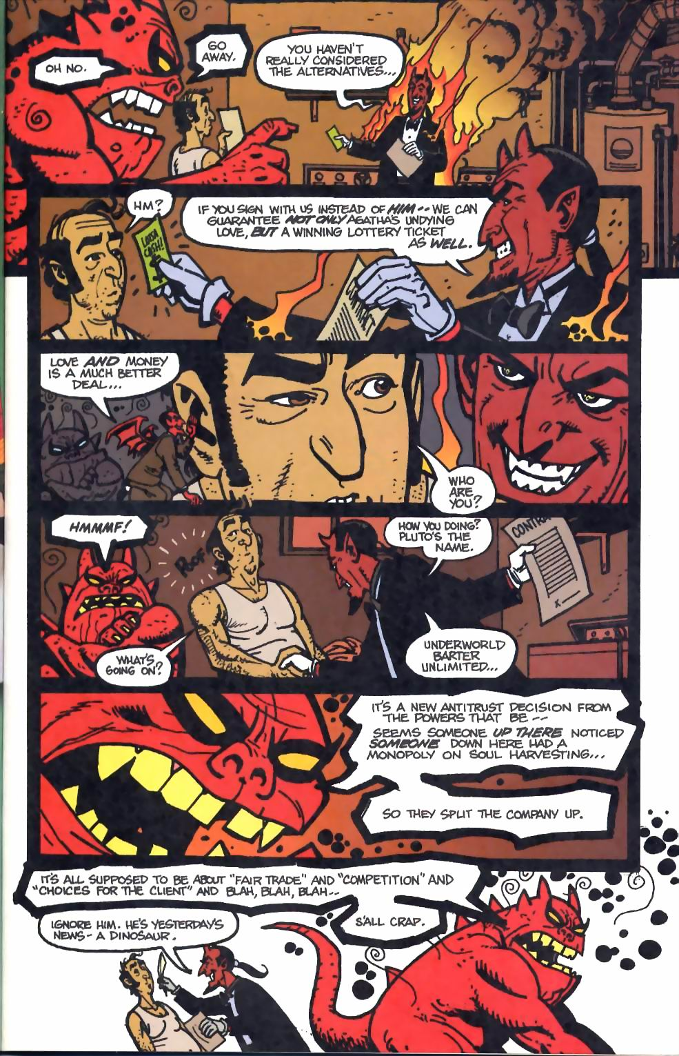 Read online Flinch comic -  Issue #4 - 12