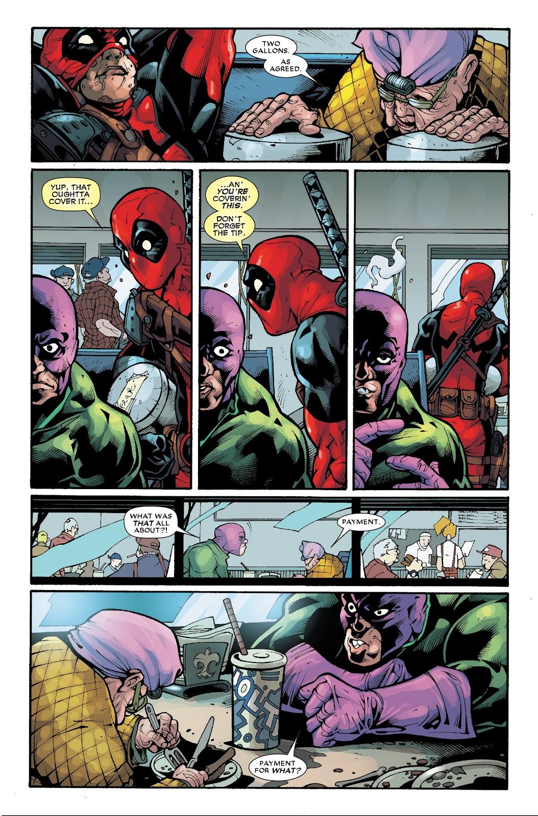 Read online Deadpool (2008) comic -  Issue #33.1 - 22