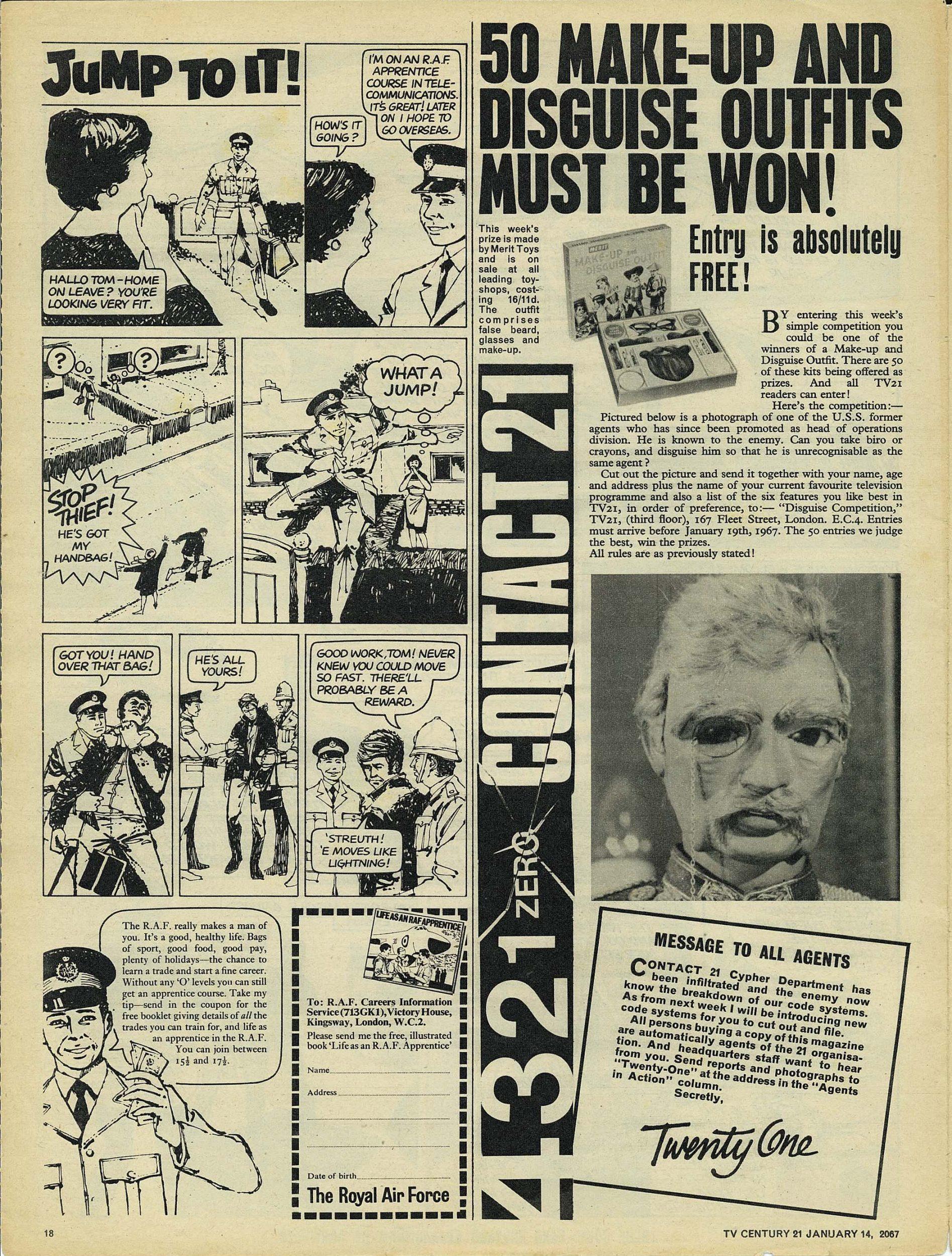 Read online TV Century 21 (TV 21) comic -  Issue #104 - 17