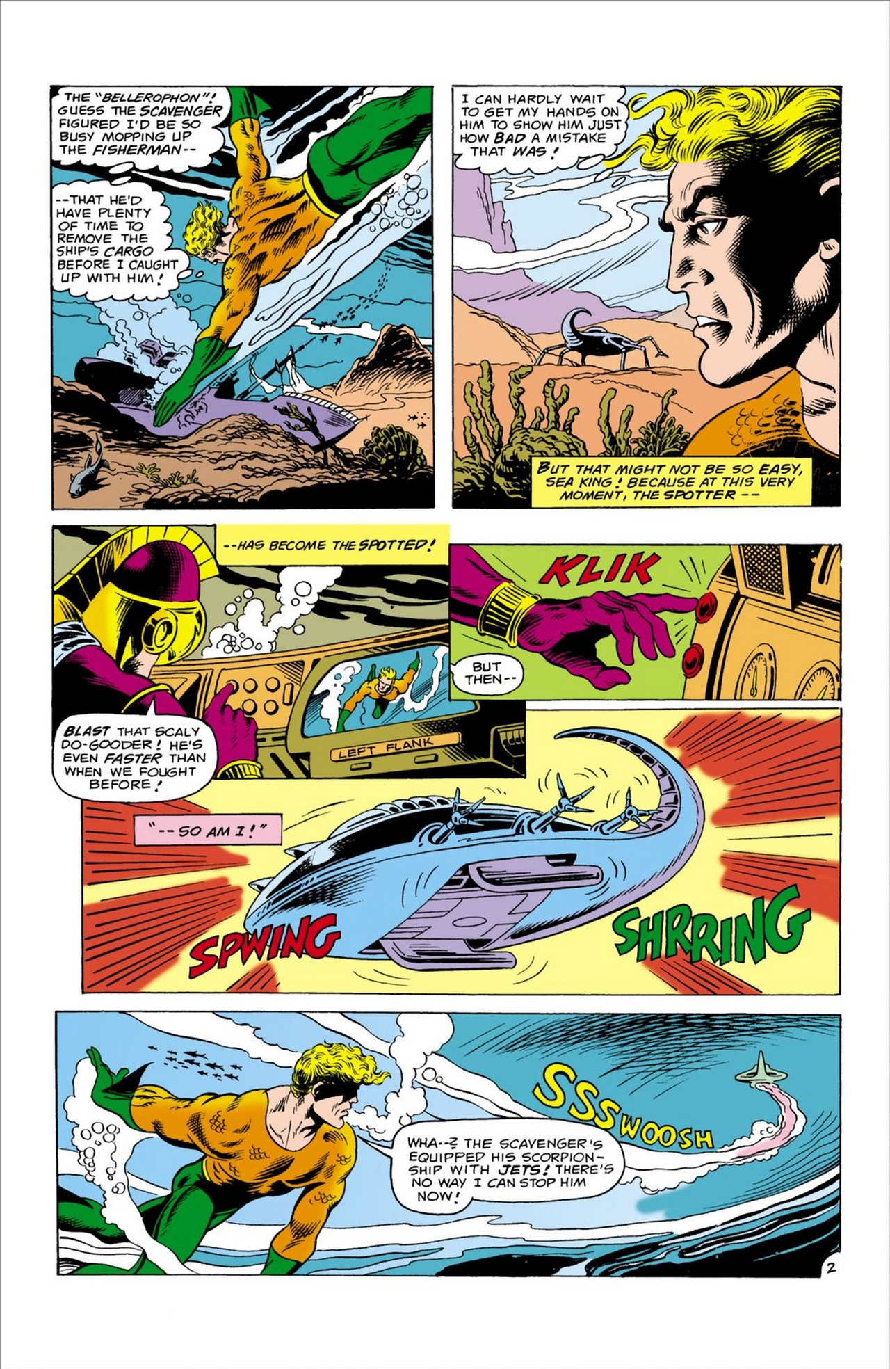 Read online Aquaman (1962) comic -  Issue #60 - 3
