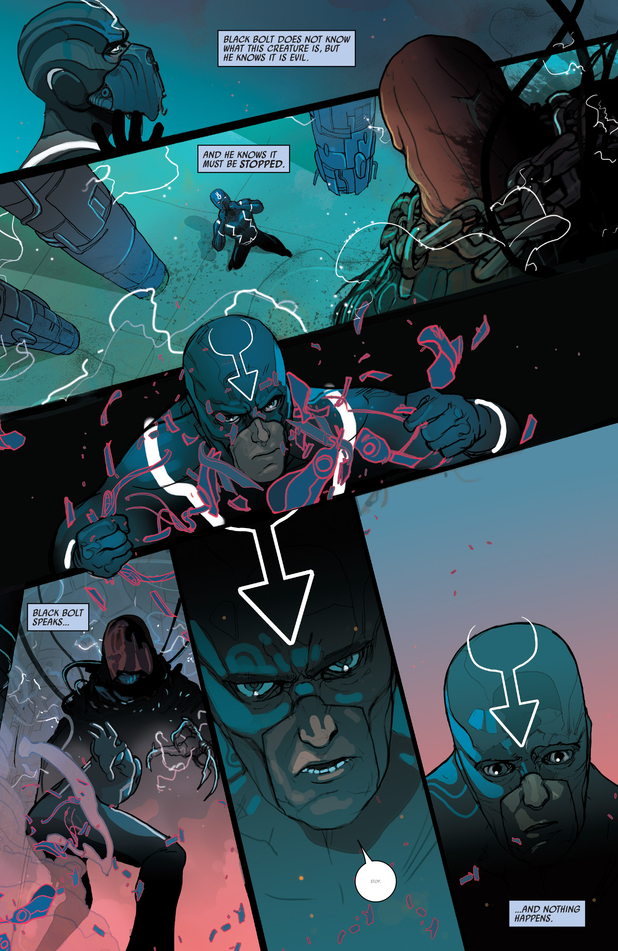 Read online Black Bolt comic -  Issue #1 - 20