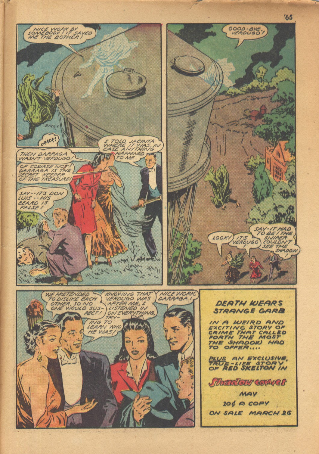 Read online Super-Magician Comics comic -  Issue #13 - 65