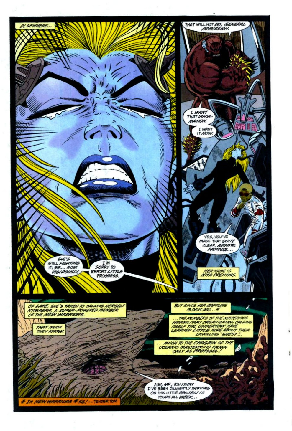 The New Warriors Issue #58 #62 - English 14