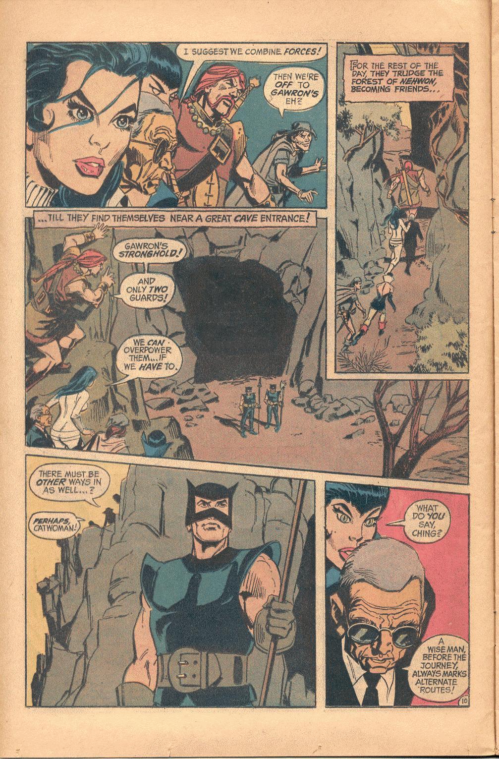 Read online Wonder Woman (1942) comic -  Issue #202 - 11