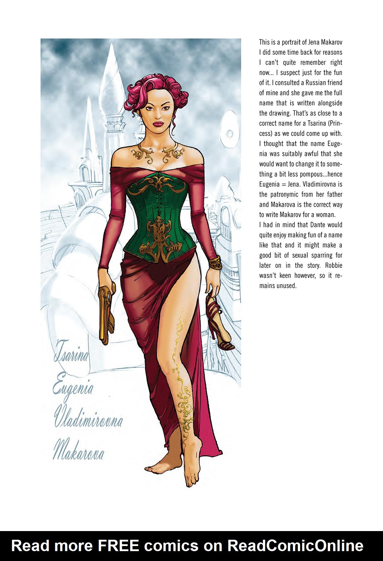 Read online Nikolai Dante comic -  Issue # TPB 3 - 145
