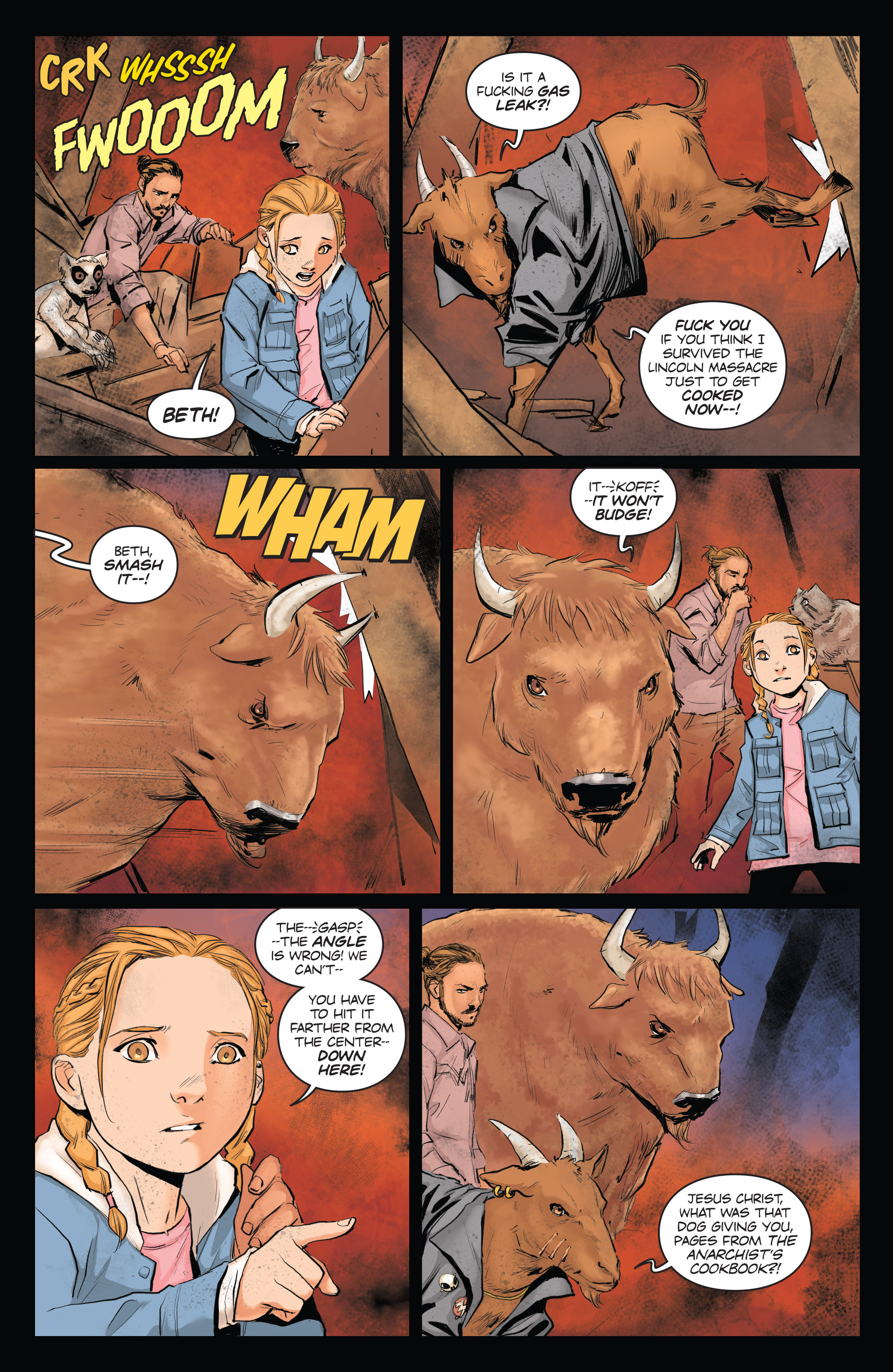 Read online Animosity comic -  Issue #4 - 13