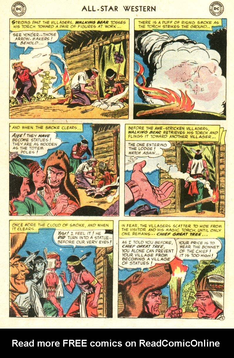 Read online All-Star Western (1951) comic -  Issue #91 - 9