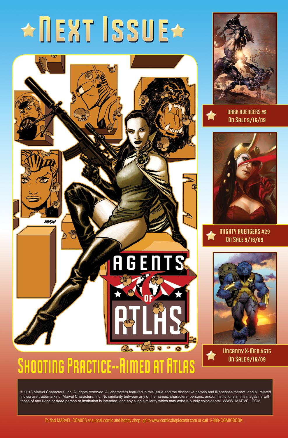 Read online Agents Of Atlas (2009) comic -  Issue #9 - 25