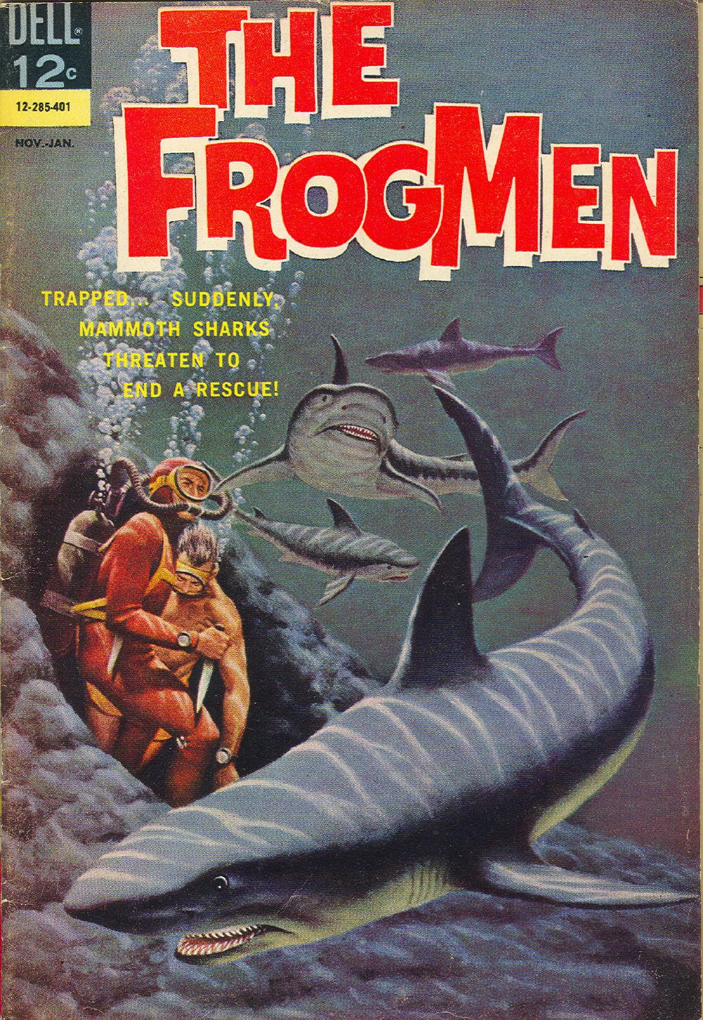The Frogmen 7 Page 1