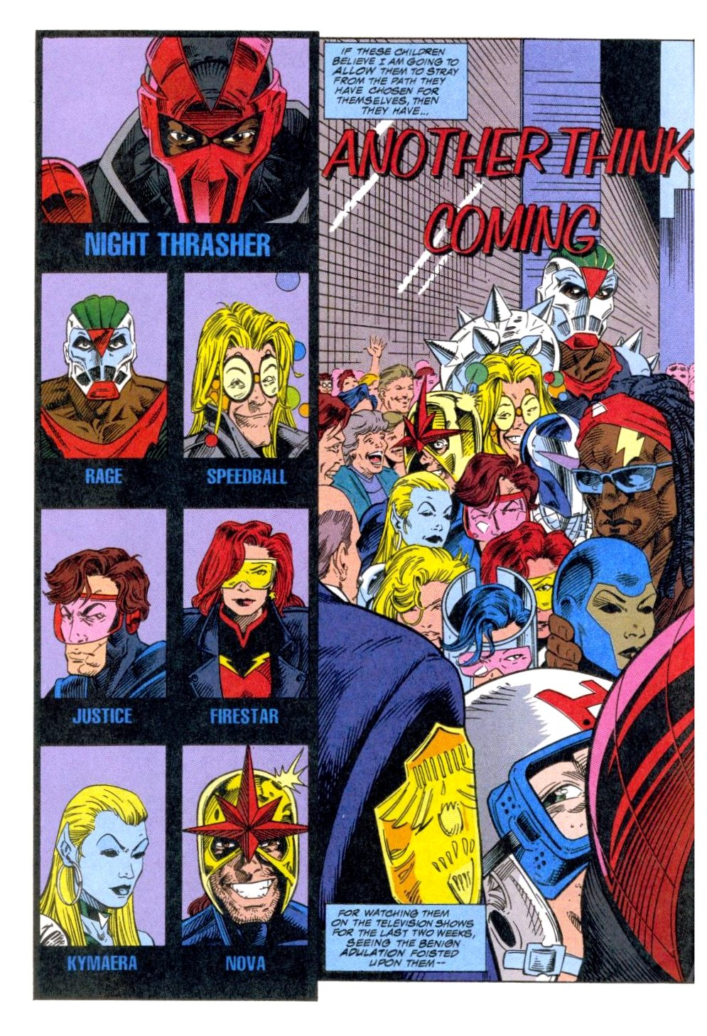 The New Warriors Issue #51 #55 - English 3