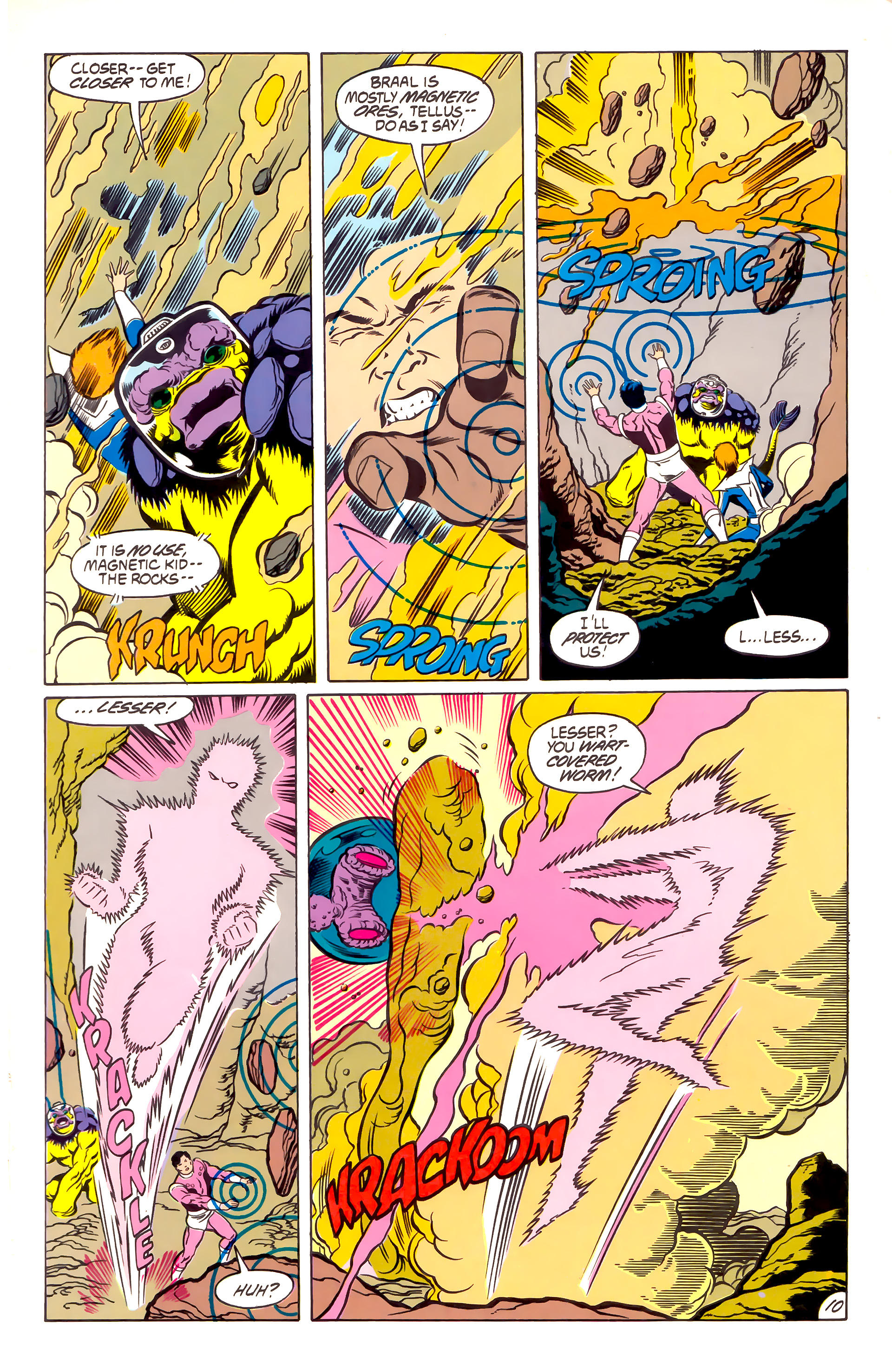 Legion of Super-Heroes (1984) 53 Page 10
