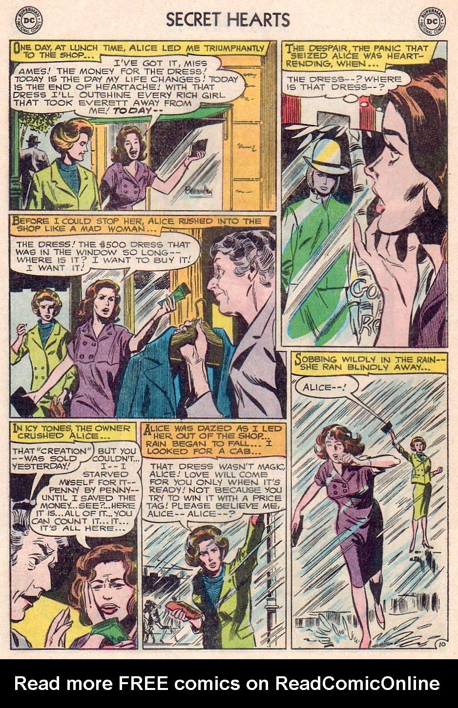 Read online Secret Hearts comic -  Issue #102 - 28