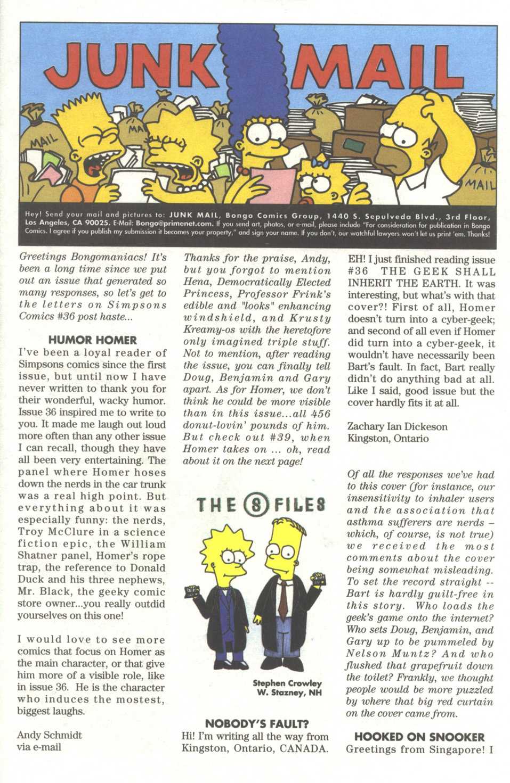 Read online Simpsons Comics comic -  Issue #38 - 26