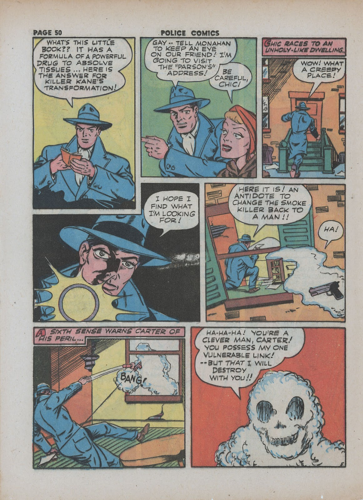 Police Comics issue 18 - Page 52