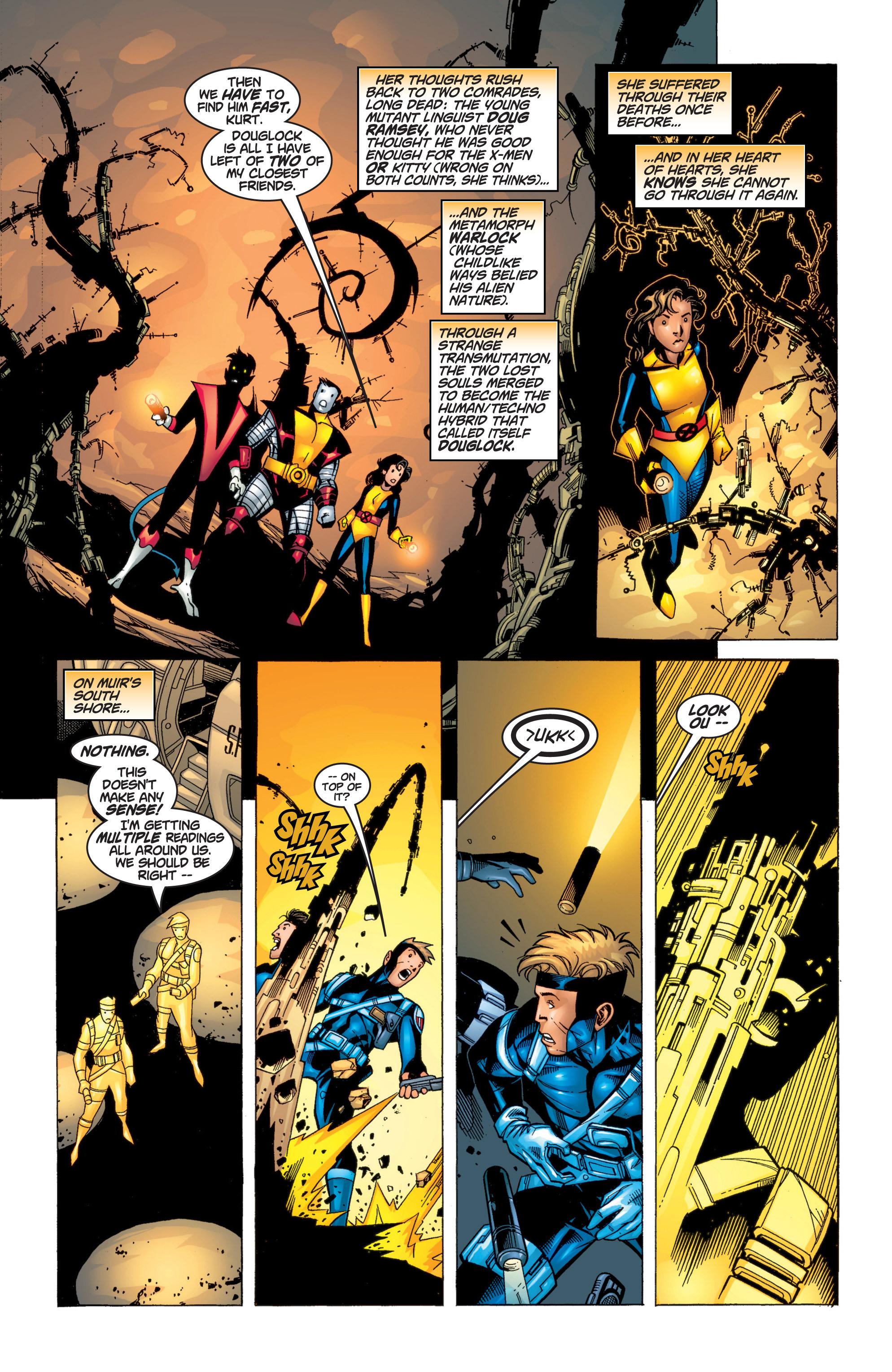 Read online Uncanny X-Men (1963) comic -  Issue #371 - 22