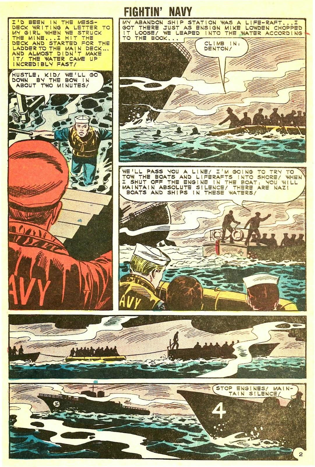 Read online Fightin' Navy comic -  Issue #115 - 4