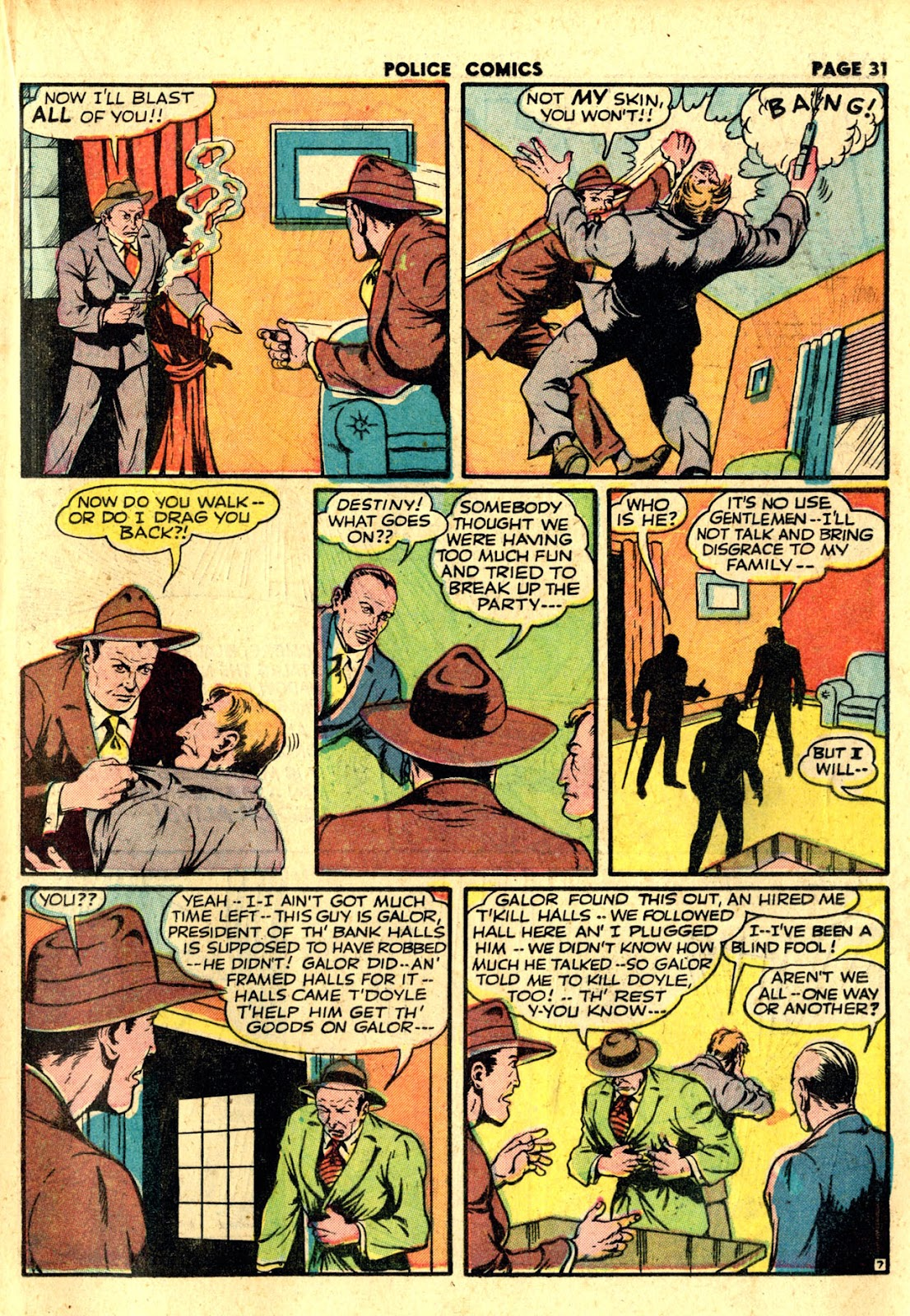 Police Comics issue 19 - Page 33