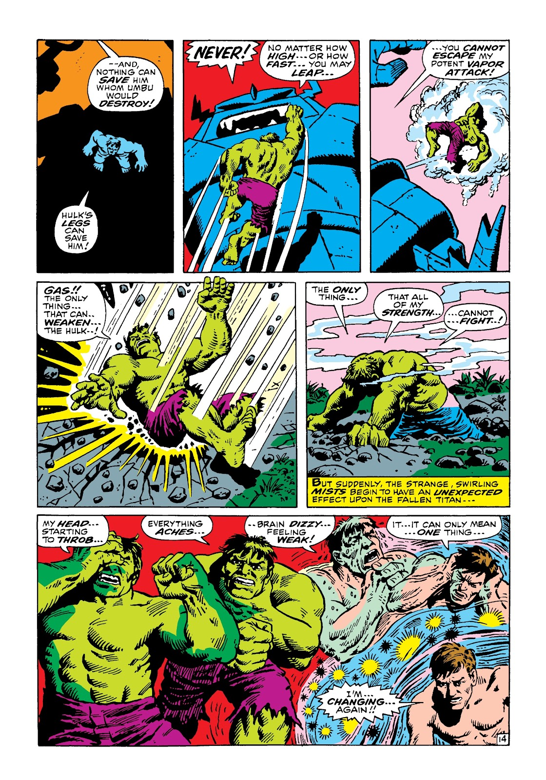 Read online Marvel Masterworks: The Incredible Hulk comic -  Issue # TPB 4 (Part 3) - 21