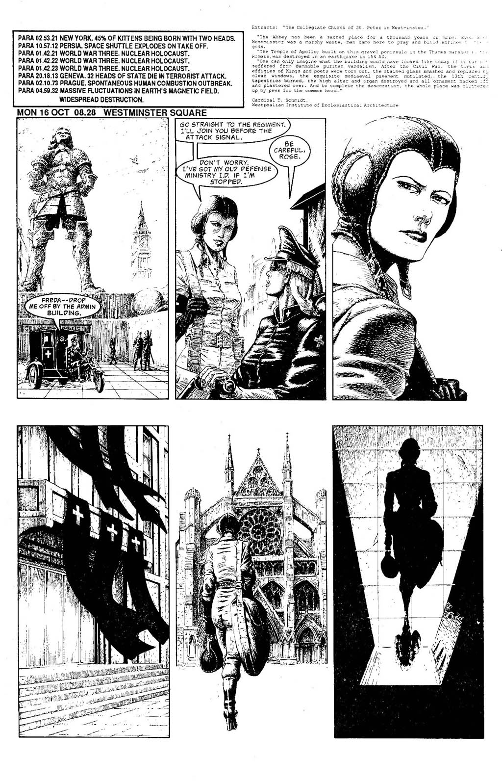 Read online The Adventures of Luther Arkwright comic -  Issue #7 - 12