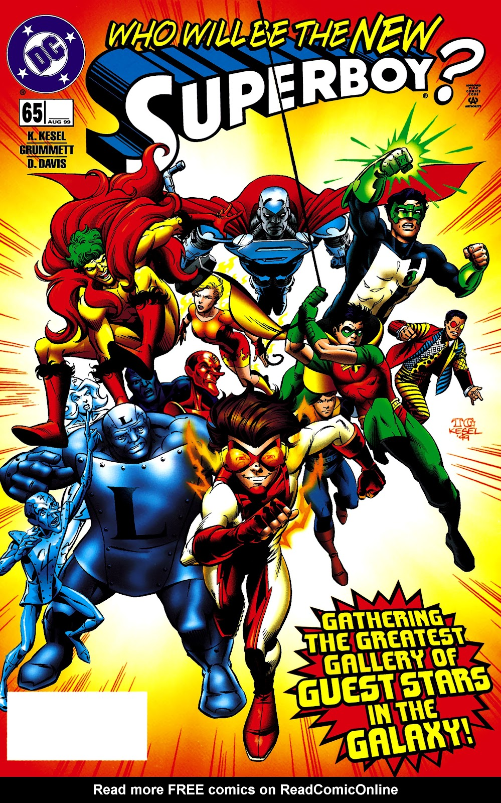 Superboy (1994) 65 Page 1