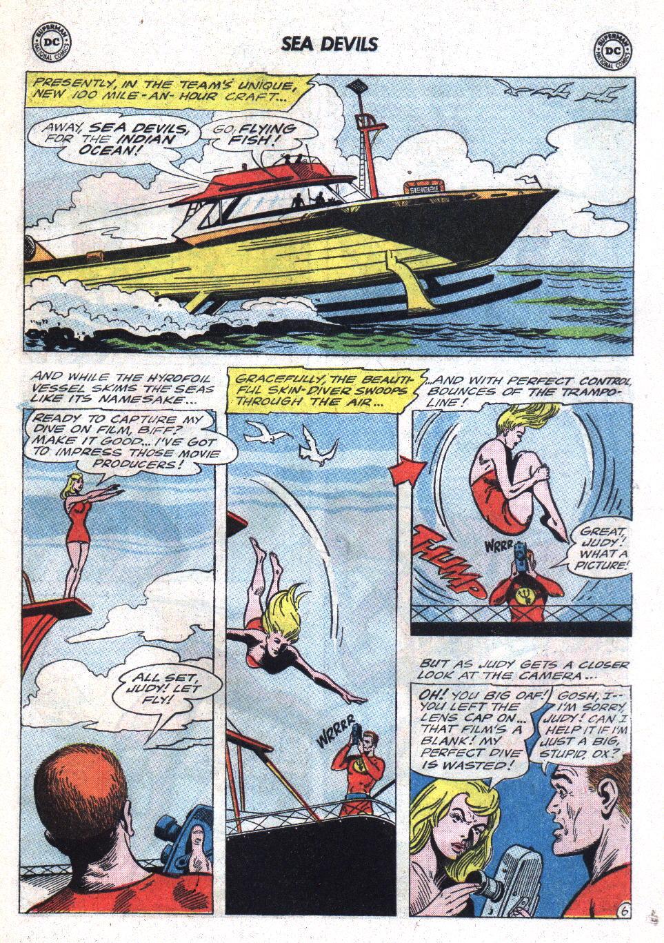 Read online Sea Devils comic -  Issue #22 - 9