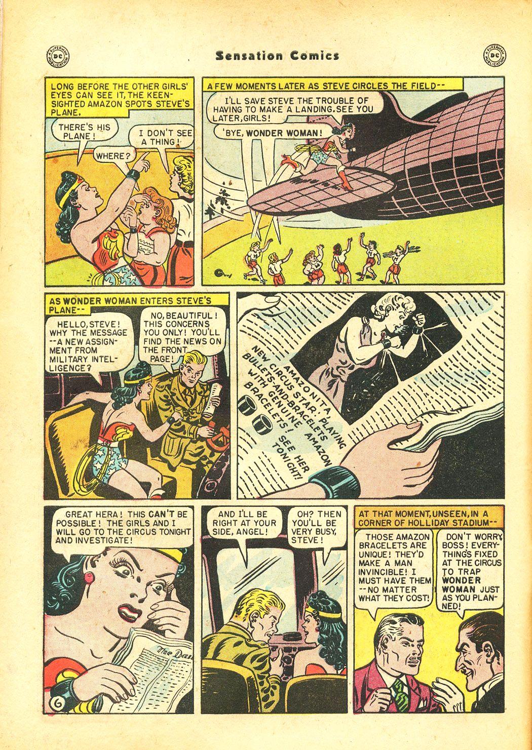 Read online Sensation (Mystery) Comics comic -  Issue #86 - 8