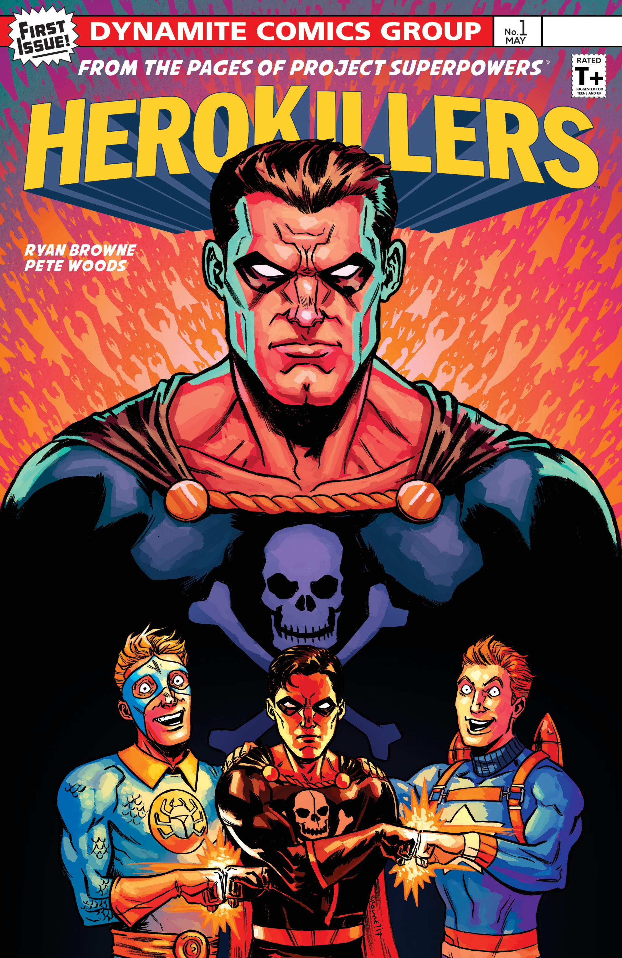 Read online Project Superpowers: Hero Killers comic -  Issue #1 - 2
