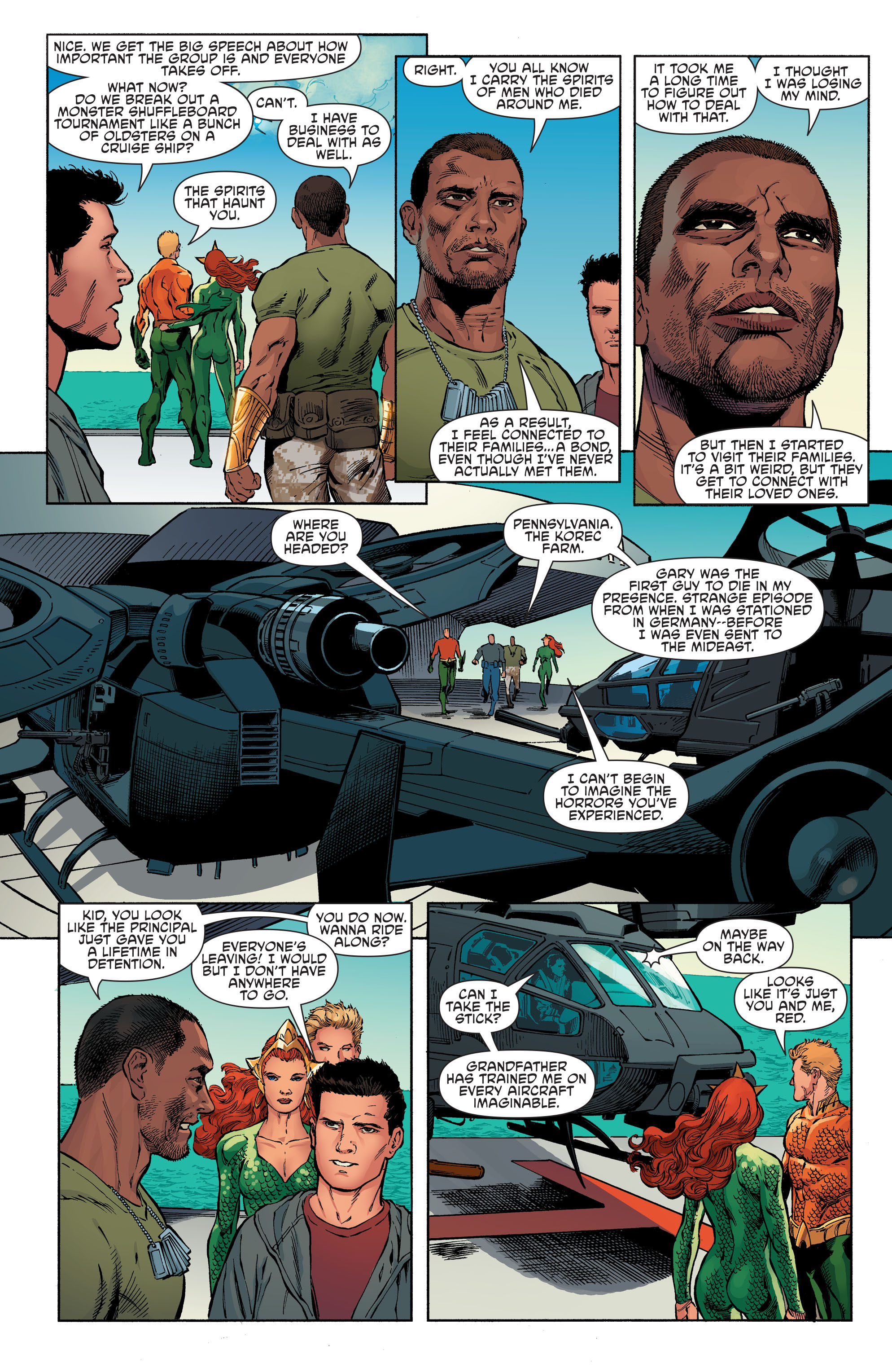 Read online Aquaman and the Others comic -  Issue #6 - 11