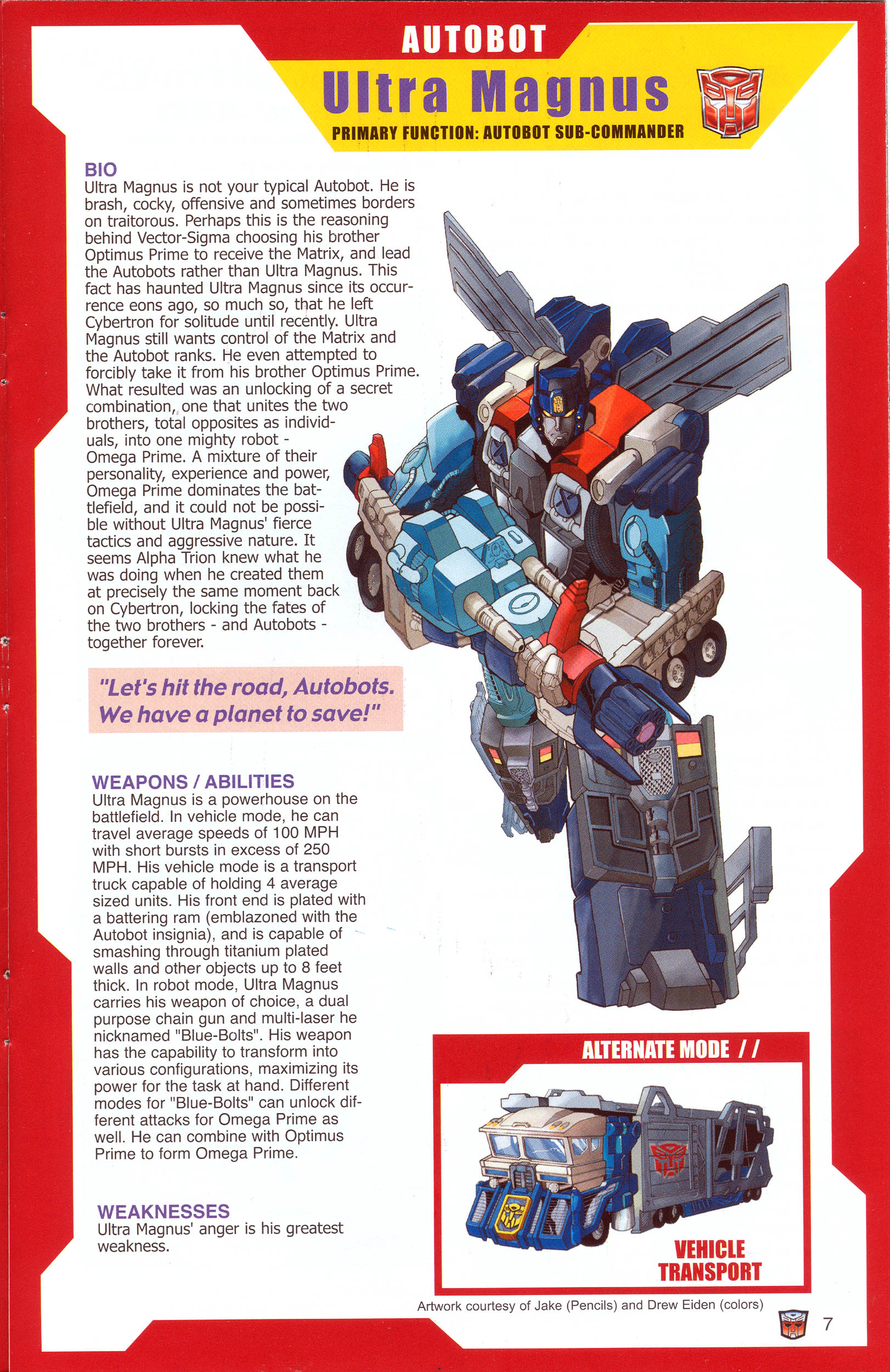 Read online Transformers: Collectors' Club comic -  Issue #8 - 7