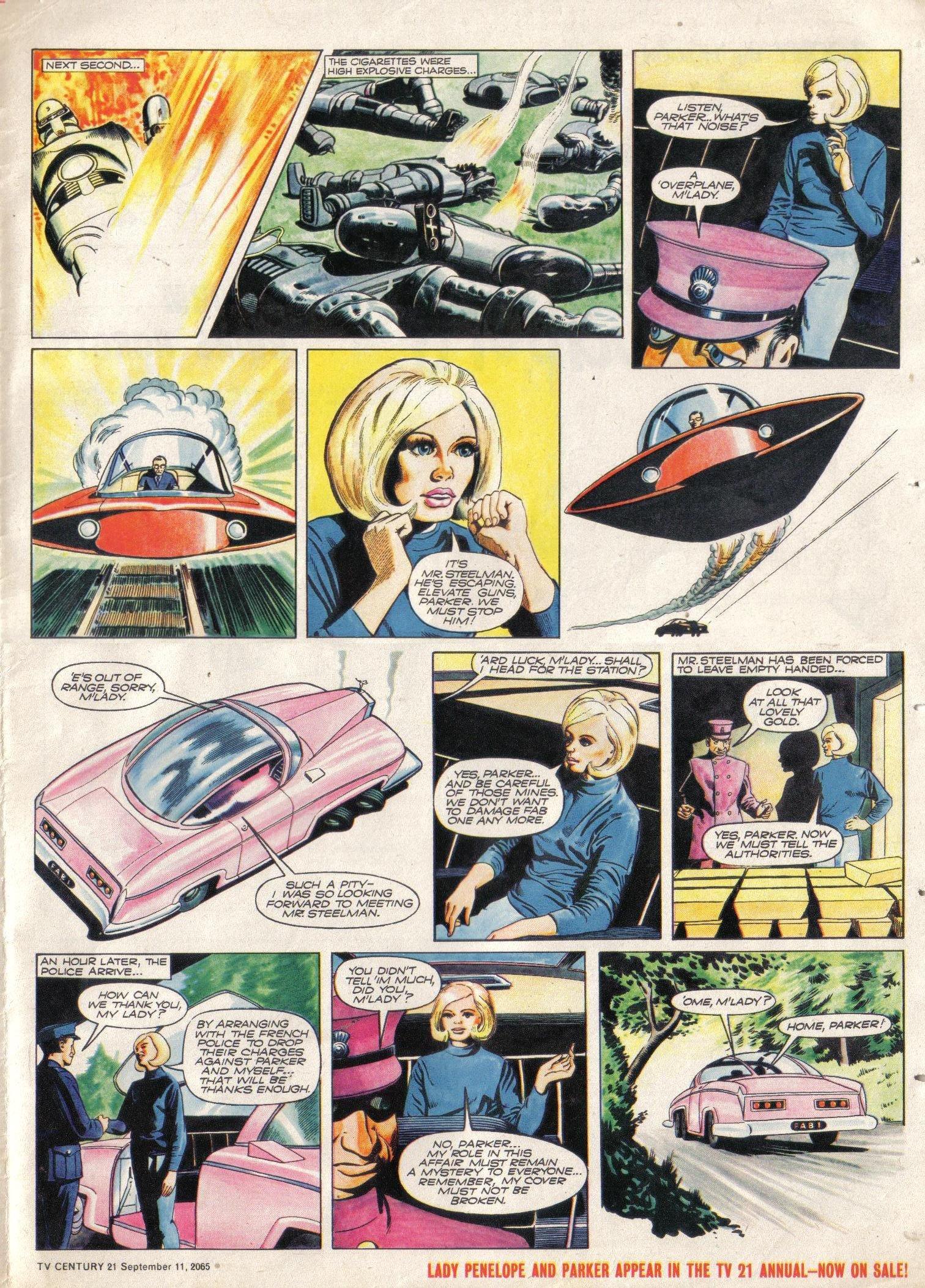 Read online TV Century 21 (TV 21) comic -  Issue #34 - 16