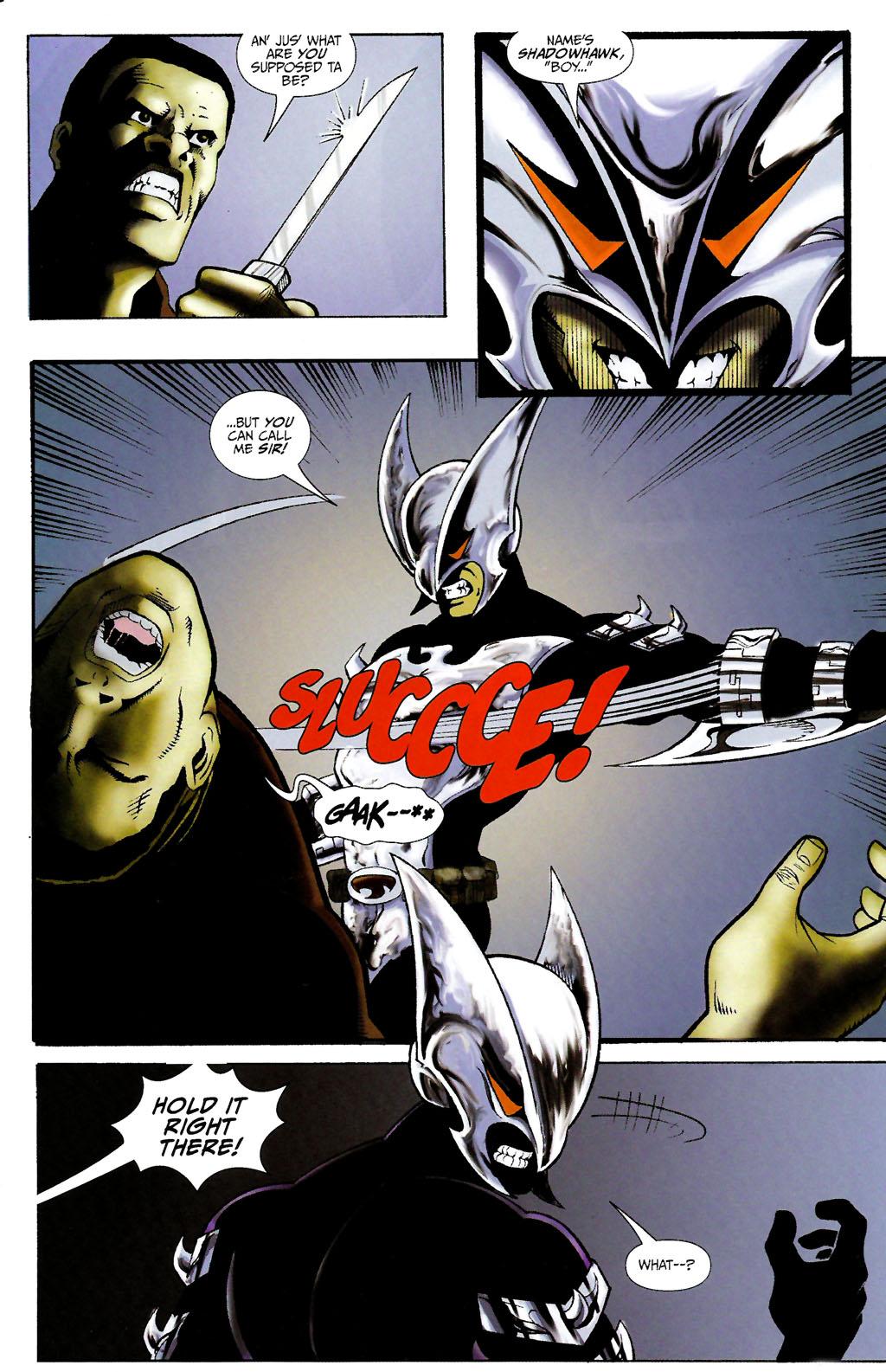 Read online ShadowHawk (2005) comic -  Issue #10 - 11