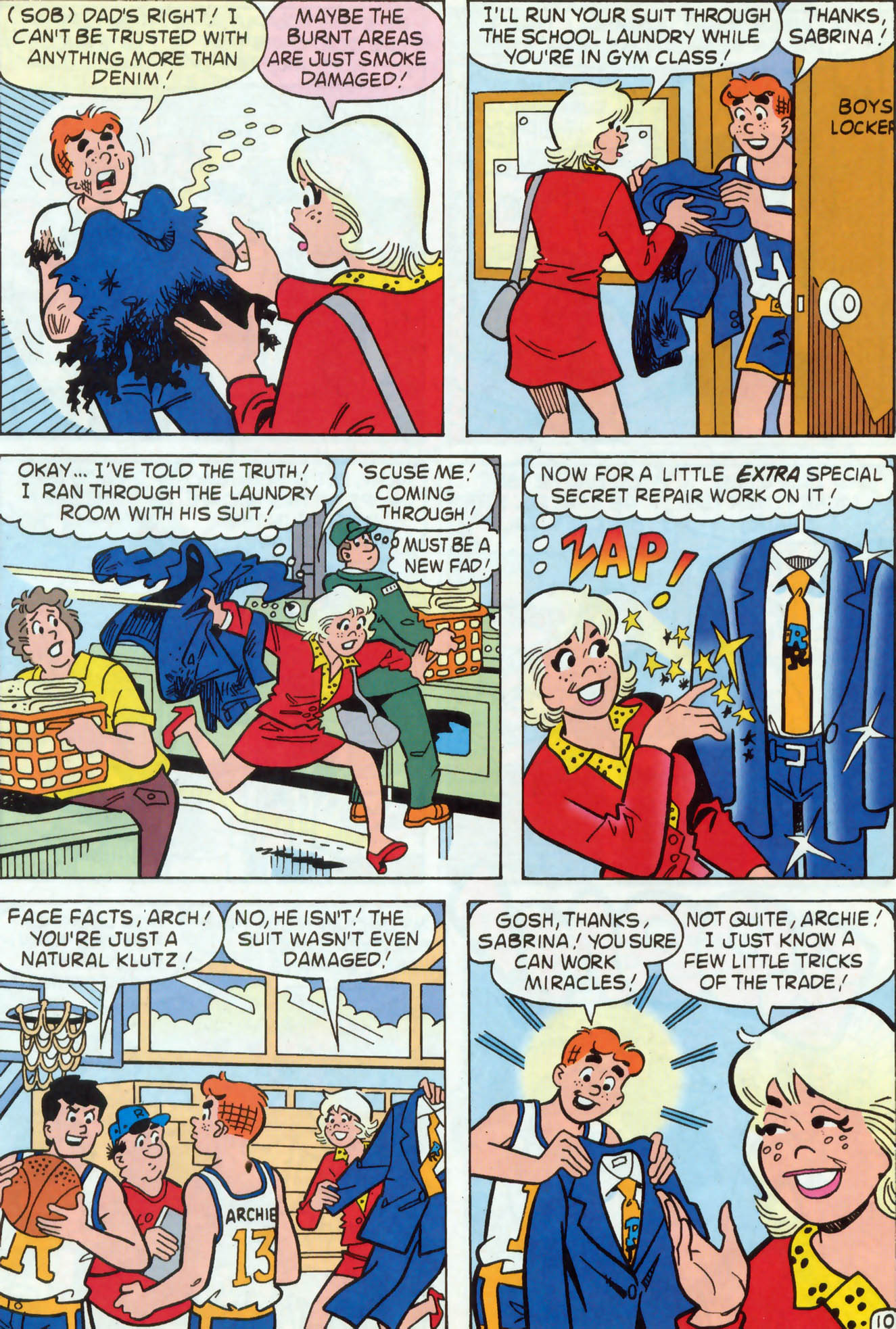 Read online Archie (1960) comic -  Issue #467 - 11