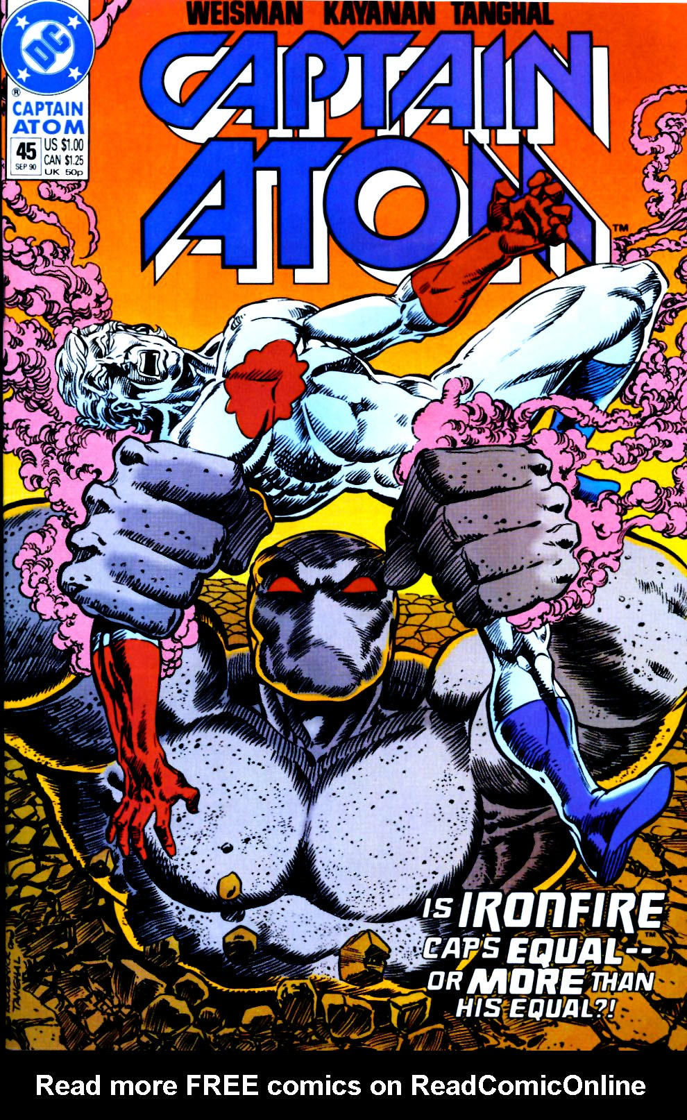 Captain Atom (1987) 45 Page 1