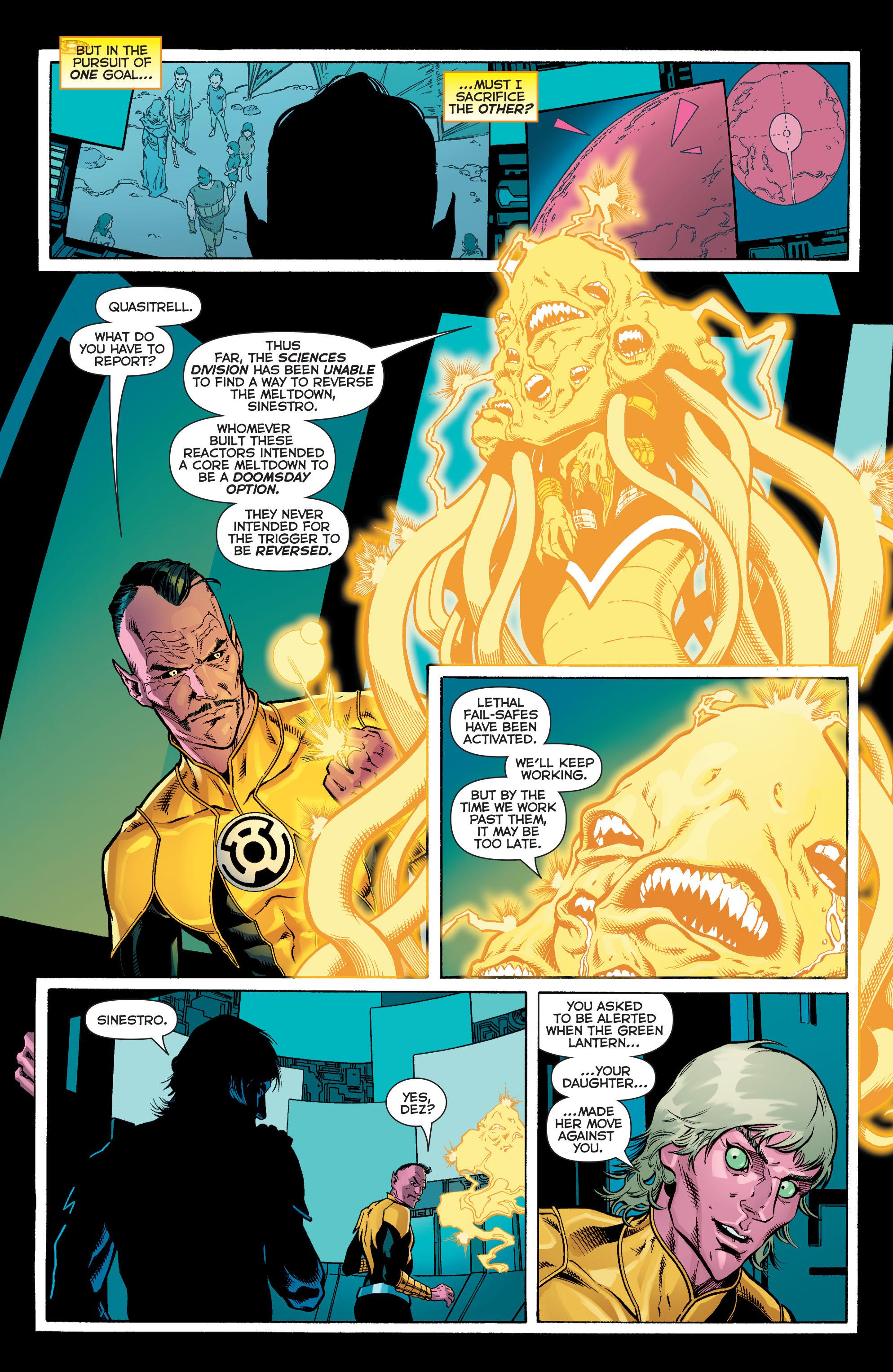 Read online Sinestro comic -  Issue #12 - 12