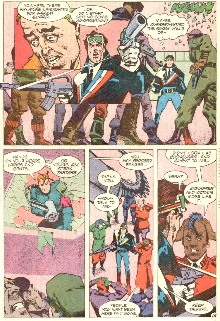 Read online American Flagg! comic -  Issue #9 - 16