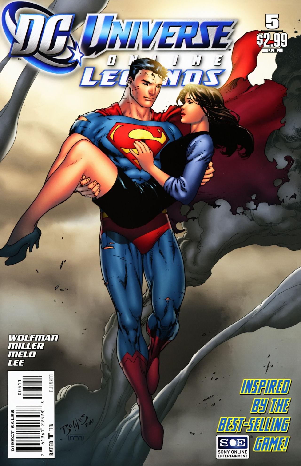DC Universe Online: Legends 5 Page 1