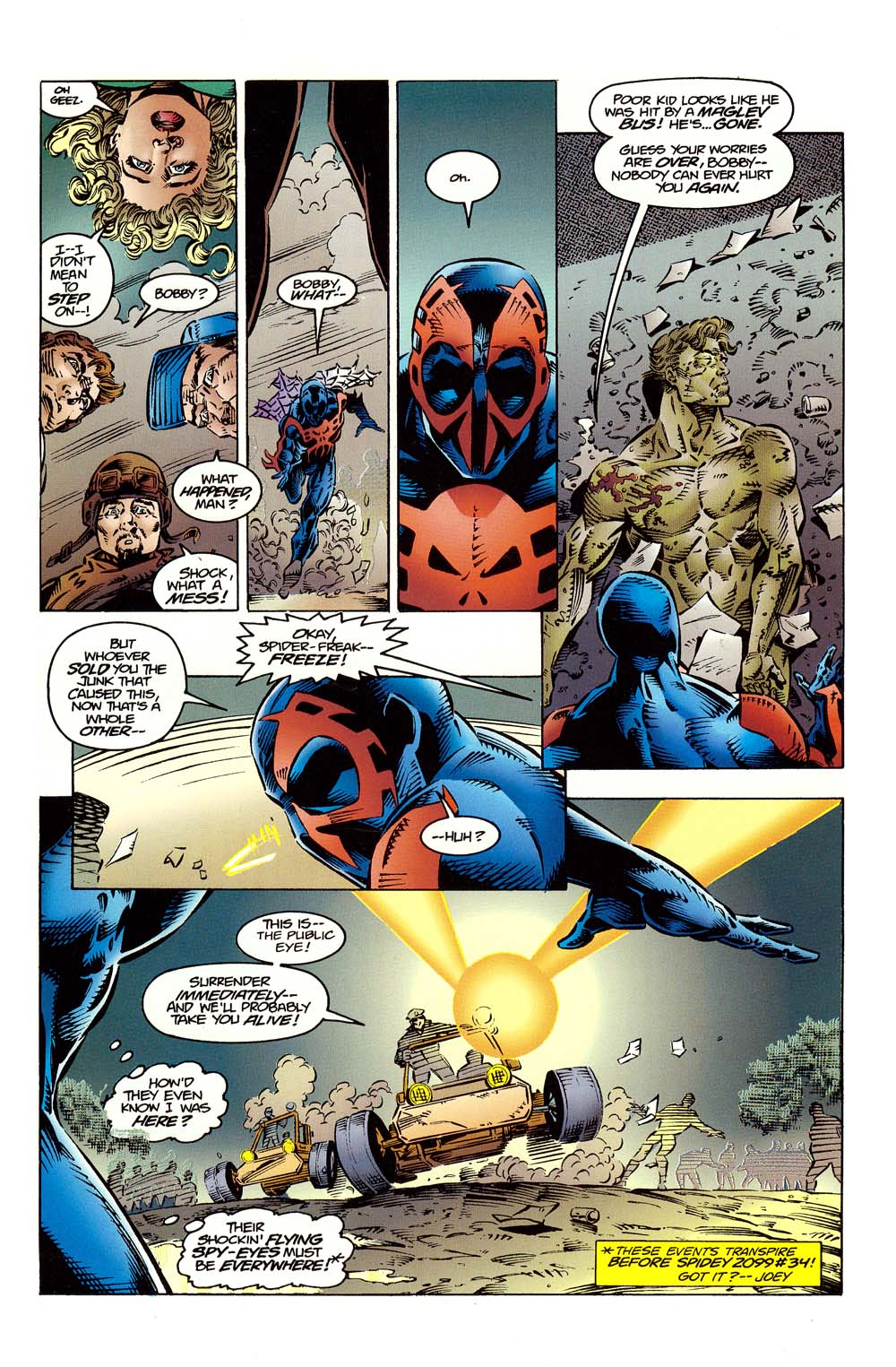 Read online 2099 Unlimited comic -  Issue #10 - 7