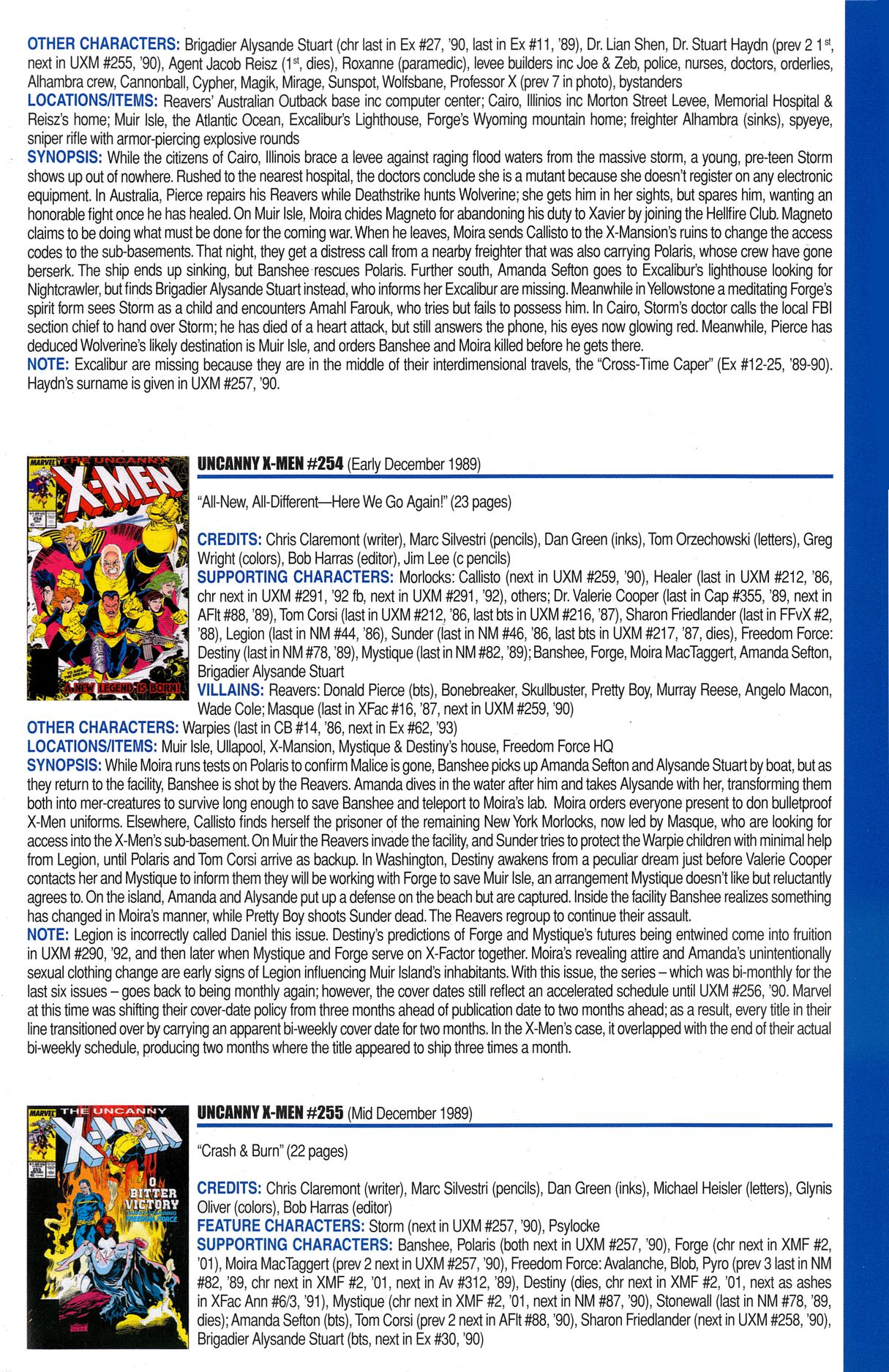 Read online Official Index to the Marvel Universe comic -  Issue #6 - 59
